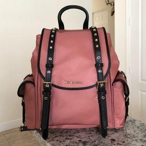 Michael Kors Leila Medium Flap Nylon Backpack